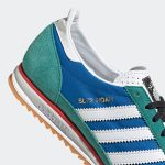 adidas SL 72 NOAH Blue FW3276 アディダス ノア コラボ ブルー close heel
