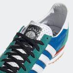 adidas SL 72 NOAH Blue FW3276 アディダス ノア コラボ ブルー close shoe tan logo