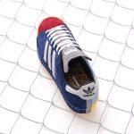 "RECOUTURE x mita sneakers x adidas CAMPUS 80S SH MITA ""CONSORTIUM""(リクチュール x ミタスニーカーズ x アディダス キャンパス 80S SH ミタ ""コンソーシアム"") FY4618 左足"