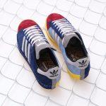 "RECOUTURE x mita sneakers x adidas CAMPUS 80S SH MITA ""CONSORTIUM""(リクチュール x ミタスニーカーズ x アディダス キャンパス 80S SH ミタ ""コンソーシアム"") FY4618 両足斜め上"
