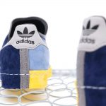 "RECOUTURE x mita sneakers x adidas CAMPUS 80S SH MITA ""CONSORTIUM""(リクチュール x ミタスニーカーズ x アディダス キャンパス 80S SH ミタ ""コンソーシアム"") FY4618 back"