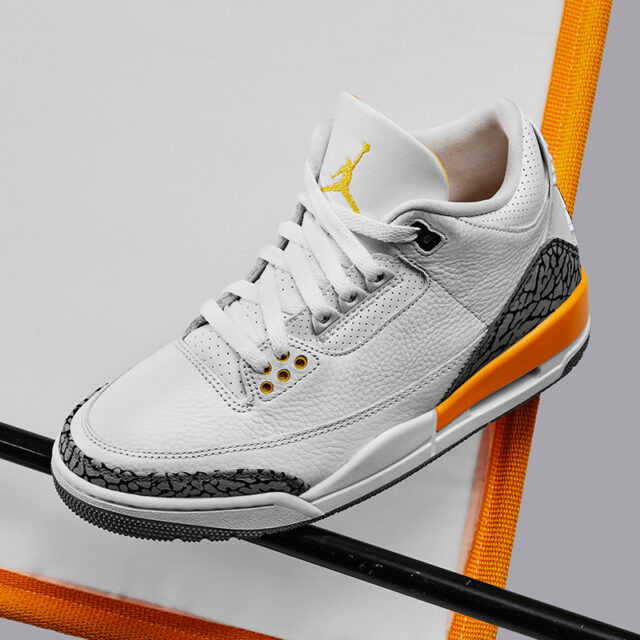 "Nike WMNS Air Jordan 3 ""Laser Orange"" (ナイキ ウィメンズ エア ジョーダン 3 ""レーザー オレンジ"") CK9246-108, 441141-108, 654964-108"