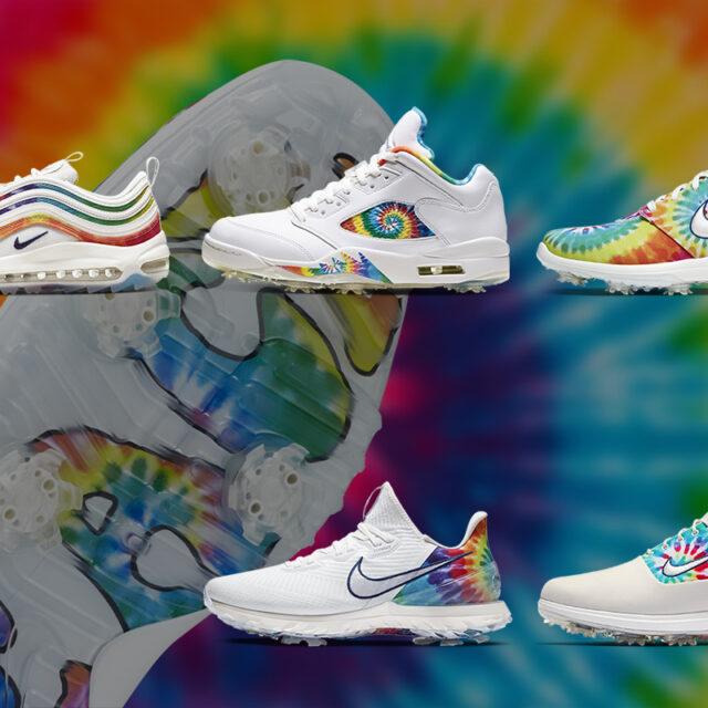 "Nike ""Peace, Love, And Golf"" Tie-Dye Collection (ナイキ ""ピース ラブ アンド ゴルフ タイダイ コレクション)"