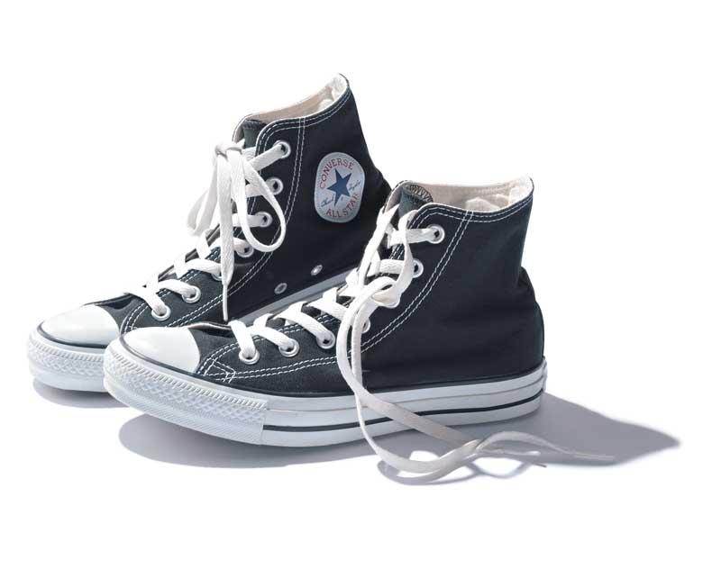 コンバース オールスター ハイカット スニーカー ブラック Converse All Star Hi Black White
