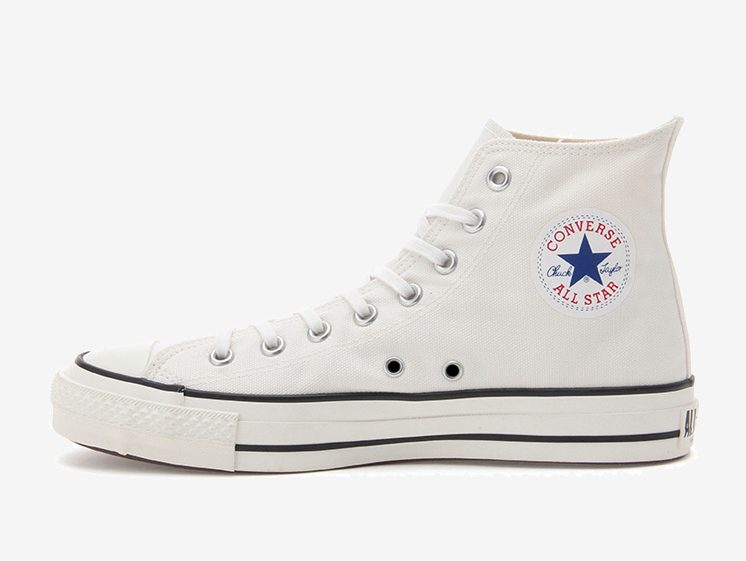 コンバース オールスター ハイ ホワイト 白 Converse CANVAS ALL STAR J HI White