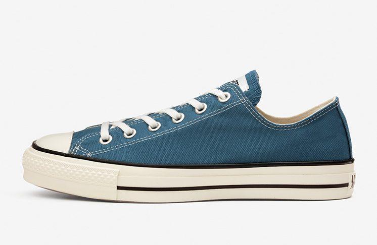 コンバース キャンバス オールスター ローカット ブルー Converse CANVAS ALL STAR J OX Blue