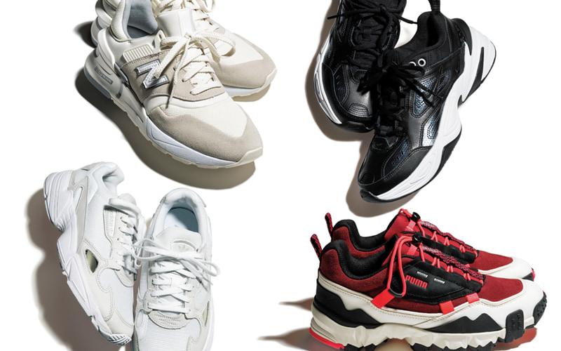 2:ストレートタイプにおすすめのスニーカー bodytype_sneakers_recommend-pointed-toe-sneakers-sample