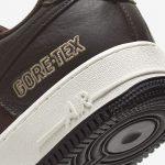 ナイキ-エア-フォース-1-Nike Air Force 1 Low GORE-TEX BAROQUE BROWN CT2858-201-heel-closeup