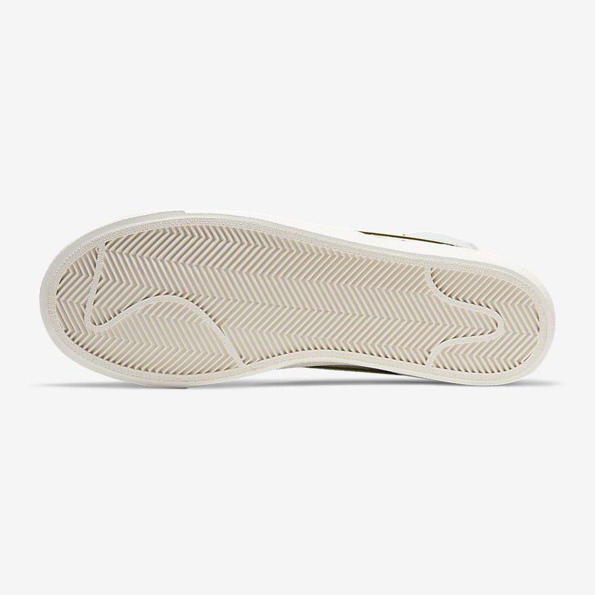 ナイキ-ブレーザー-mid-77-Nike Blazer Mid 77 Vintage DC5203-100 sole