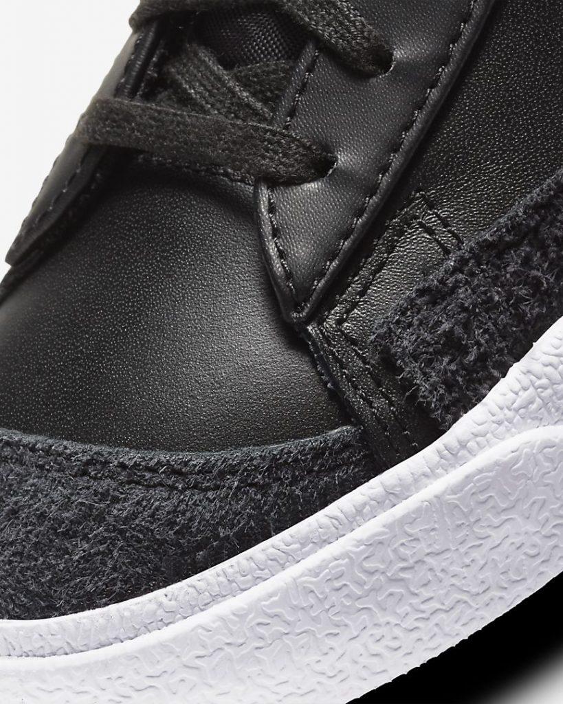 """ナイキ ウィメンズ ブレーザー ミッド '77 SE """"シスターフッド""""Nike WMNS Blazer MID '77 SE """"Sisterhood""""-CZ4627-001-toe-closeup"""