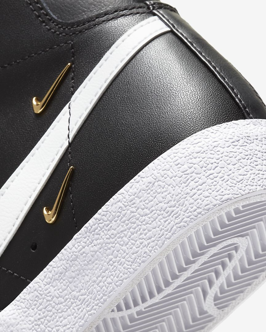 """ナイキ ウィメンズ ブレーザー ミッド '77 SE """"シスターフッド""""Nike WMNS Blazer MID '77 SE """"Sisterhood""""-CZ4627-001-heel-closeup"""