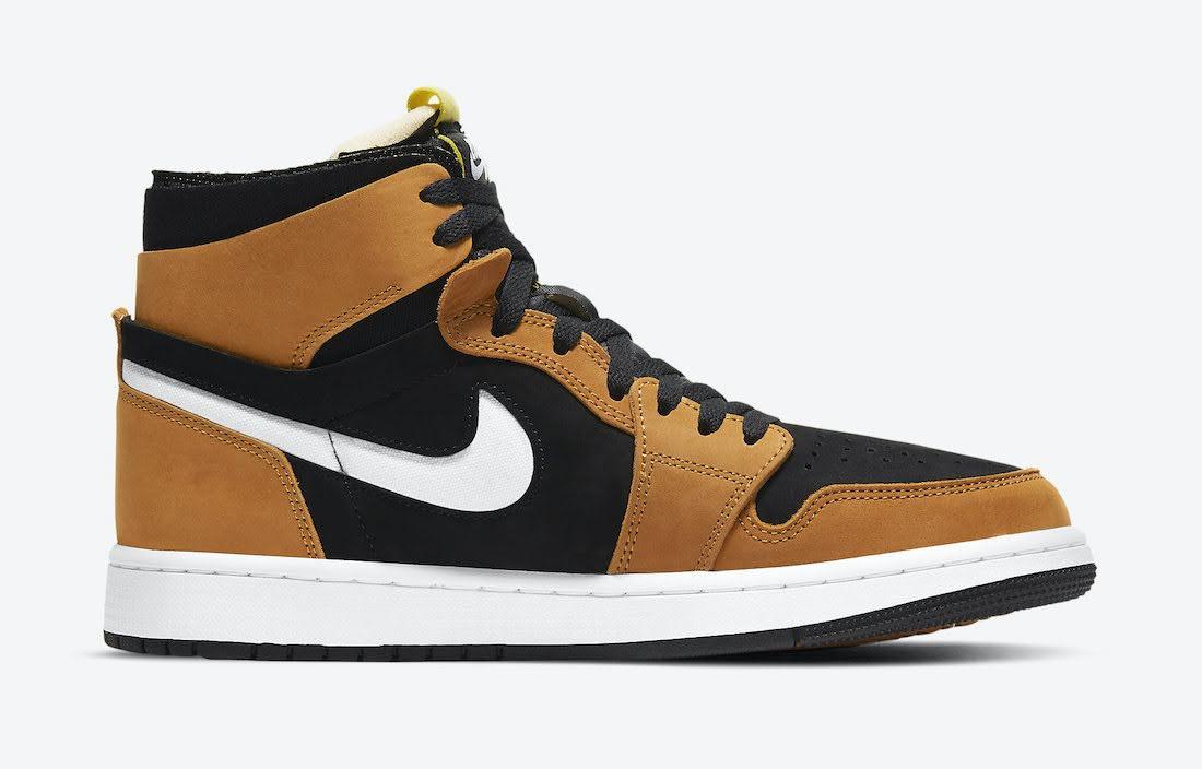 """ナイキ エア ジョーダン 1 ズーム コンフォート """"ブラックウィート"""" Nike-Air-Jordan-1-Zoom-Comfort-Black-Wheat-CT0978-002-side2"""