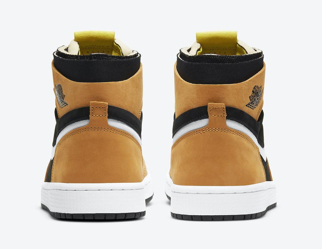 """ナイキ エア ジョーダン 1 ズーム コンフォート """"ブラックウィート"""" Nike-Air-Jordan-1-Zoom-Comfort-Black-Wheat-CT0978-002-side2ナイキ エア ジョーダン 1 ズーム コンフォート """"ブラックウィート"""" Nike-Air-Jordan-1-Zoom-Comfort-Black-Wheat-CT0978-002-heel"""