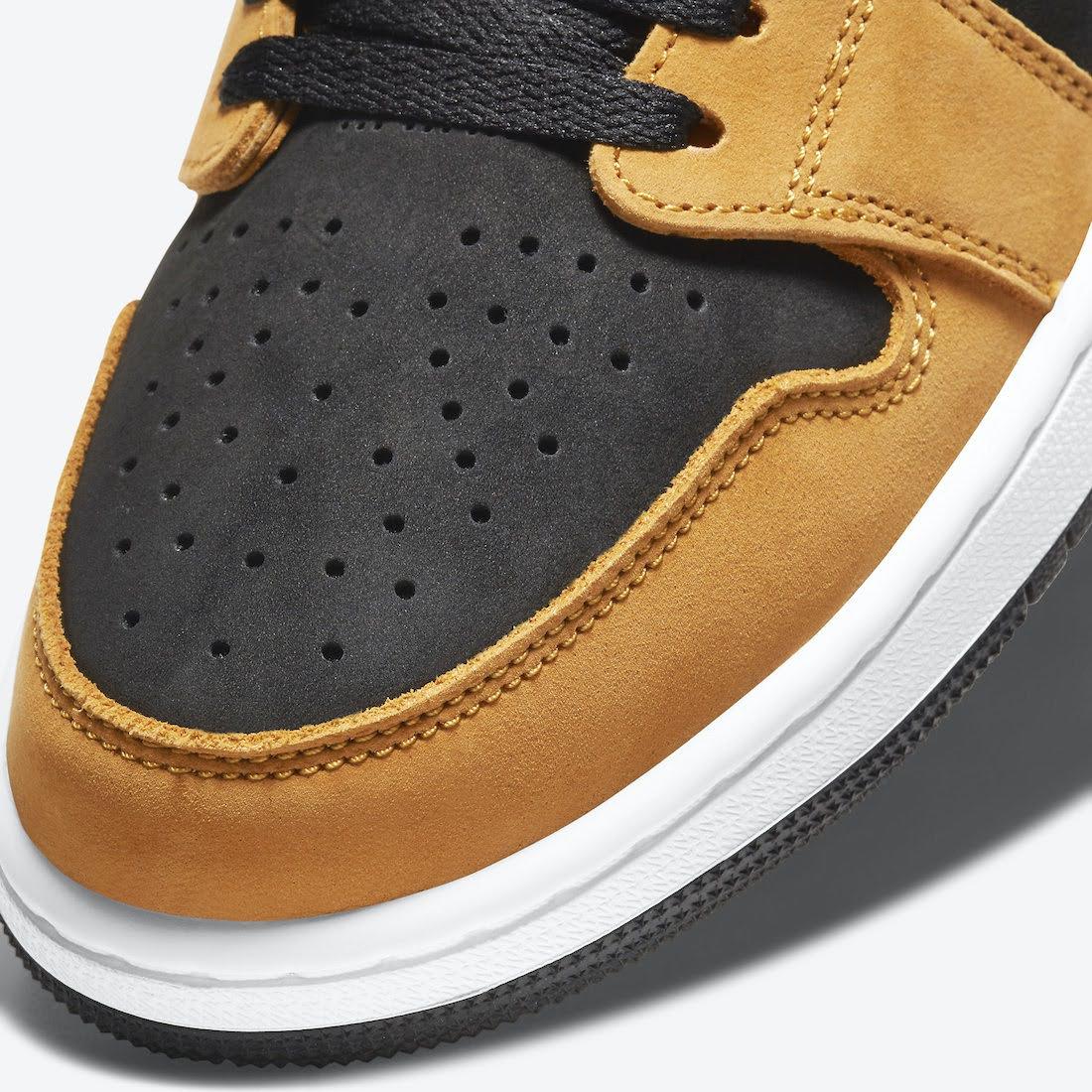 """ナイキ エア ジョーダン 1 ズーム コンフォート """"ブラックウィート"""" Nike-Air-Jordan-1-Zoom-Comfort-Black-Wheat-CT0978-002-side2ナイキ エア ジョーダン 1 ズーム コンフォート """"ブラックウィート"""" Nike-Air-Jordan-1-Zoom-Comfort-Black-Wheat-CT0978-002-toe-closeup"""
