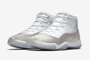 WMNS Air Jordan 11 (ウィメンズエアジョーダン11) Nike-Air-Jordan-11-WMNS-White-Metallic-Silver-AR0715-100