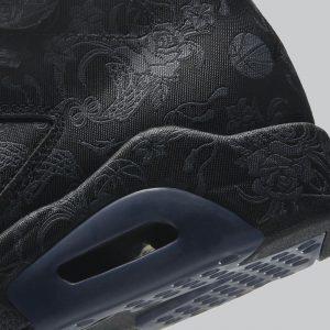 """ナイキ エアジョーダン 6 SD ウィメンズ """"シングルズデー"""" Nike Air-Jordan-6-Singles-Day-DB9818-001-heel"""