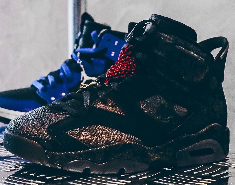 """ナイキ エアジョーダン 6 SD ウィメンズ """"シングルズデー"""" Nike Air-Jordan-6-Singles-Day-DB9818-001-looks"""