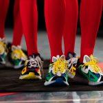 アンガス・ジャン × リーボック ジグ キネティカ コンセプト タイプ2 Paris Fashion Week runway