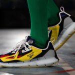 アンガス・ジャン × リーボック ジグ キネティカ コンセプト タイプ2 Paris Fashion Week Yellow Pair