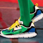 アンガス・ジャン × リーボック ジグ キネティカ コンセプト タイプ2 Paris Fashion Week green runway