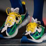 アンガス・ジャン × リーボック ジグ キネティカ コンセプト タイプ2 Paris Fashion Week green front
