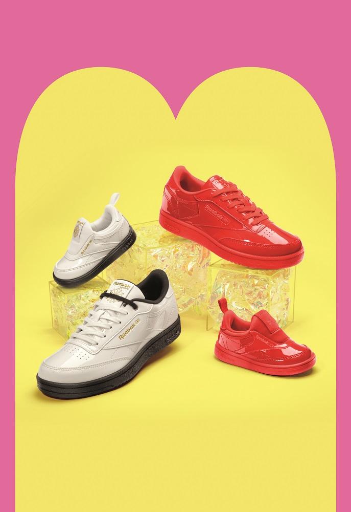 Reebok CLASSIC x Cardi B カーディ・B クラブ シー Cardi B Club C Shoes コラボ image red collab