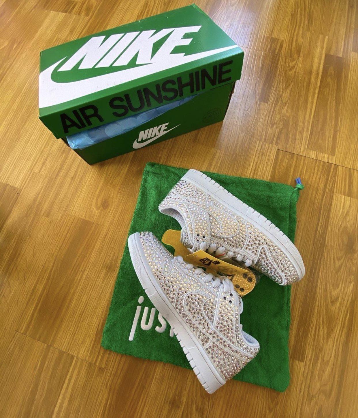 カクタス プラント フリー マーケット ナイキ コラボ ダンク ロー Cactus Plant Flea Market CPFM Nike Dunk Low leak pair box