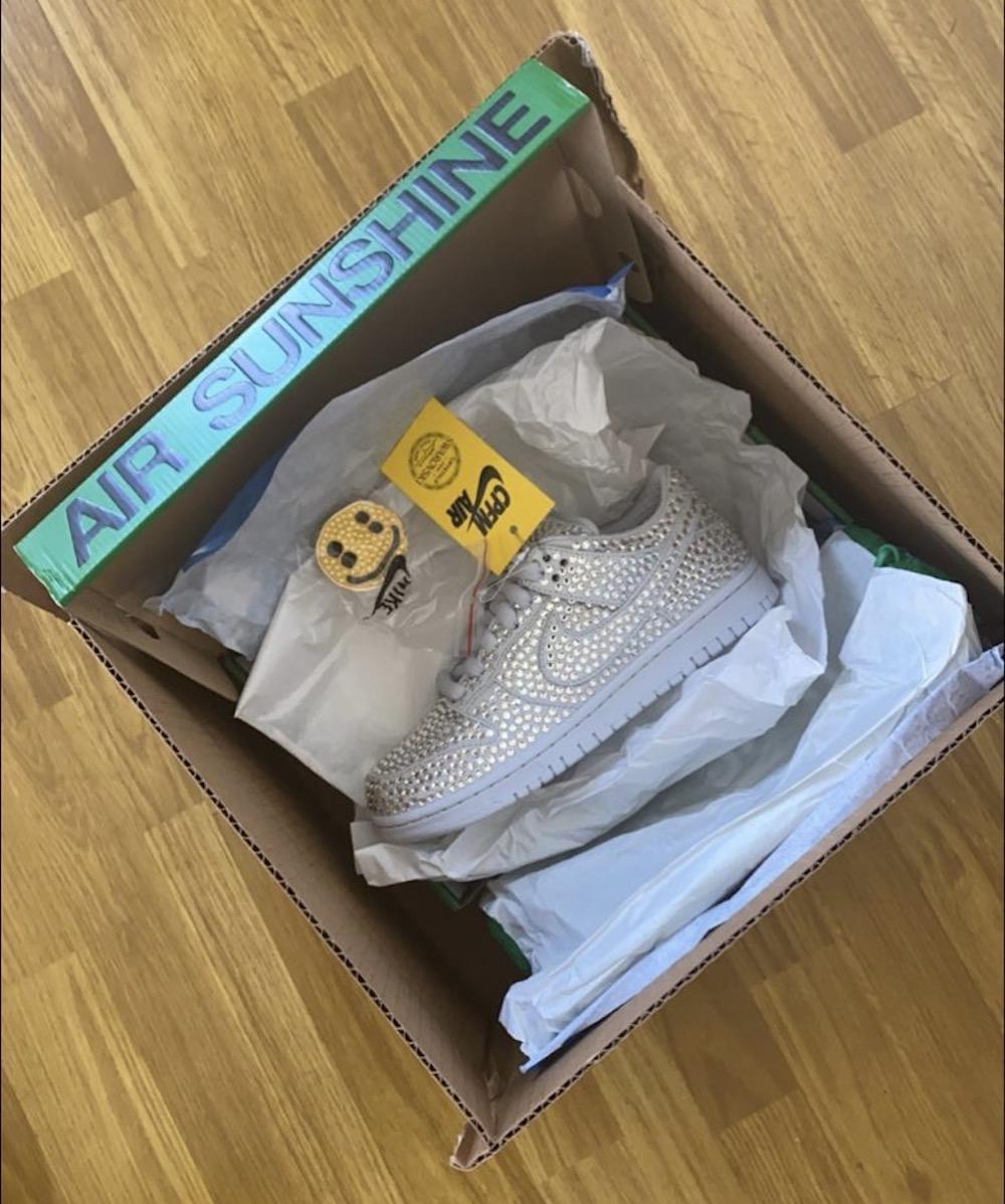 カクタス プラント フリー マーケット ナイキ コラボ ダンク ロー Cactus Plant Flea Market CPFM Nike Dunk Low leak side box