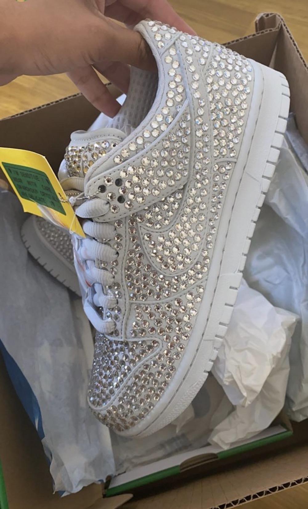 カクタス プラント フリー マーケット ナイキ コラボ ダンク ロー Cactus Plant Flea Market CPFM Nike Dunk Low leak side