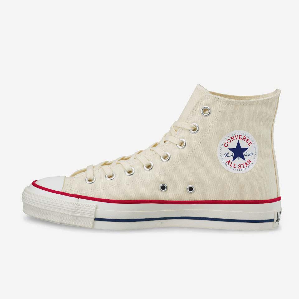 コンバース オールスター スニーカー ハイカット Converse CANVAS ALL STAR J HI Sail