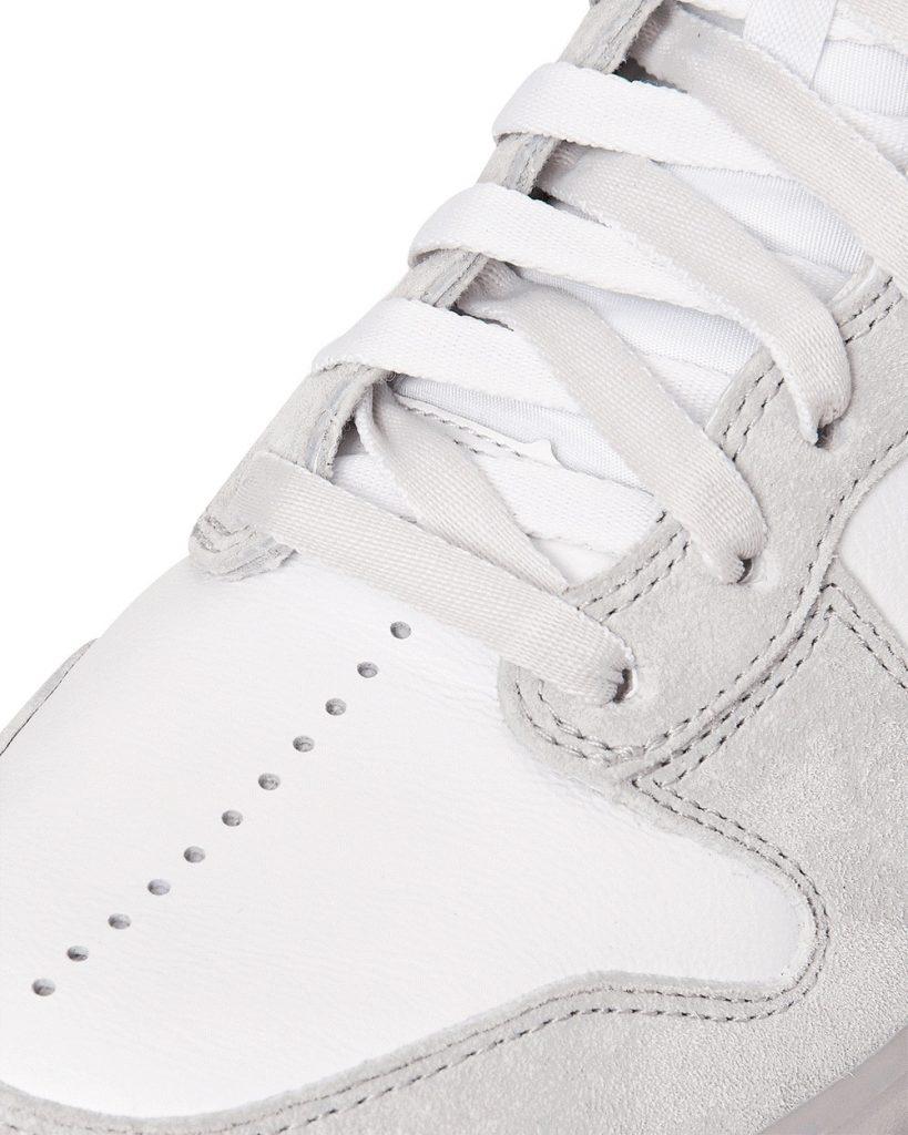 スラムジャム × ナイキ ダンク ハイ ホワイト nike-dunk-high-x-slam-jam-white-DA1639-100-front-closeup