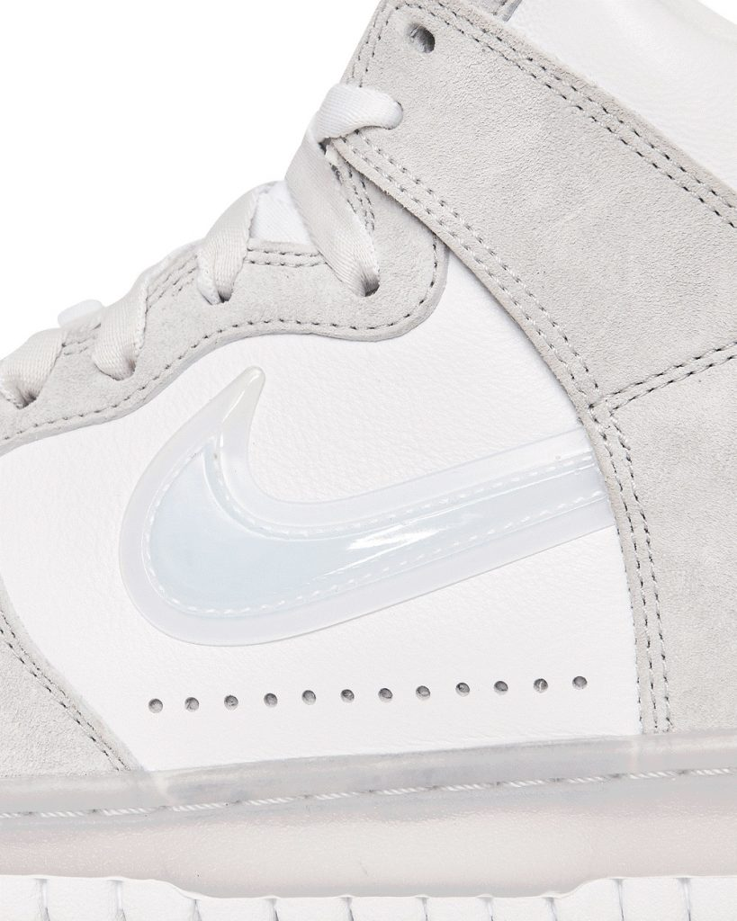 スラムジャム × ナイキ ダンク ハイ ホワイト nike-dunk-high-x-slam-jam-white-DA1639-100-side-closeup