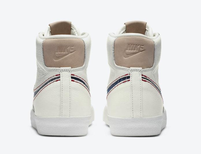 Denham x Nike Blazer Mid デンハム × ナイキ ブレーザー ミッド CU8054-100 Sail/Midnight Navy-Summit White