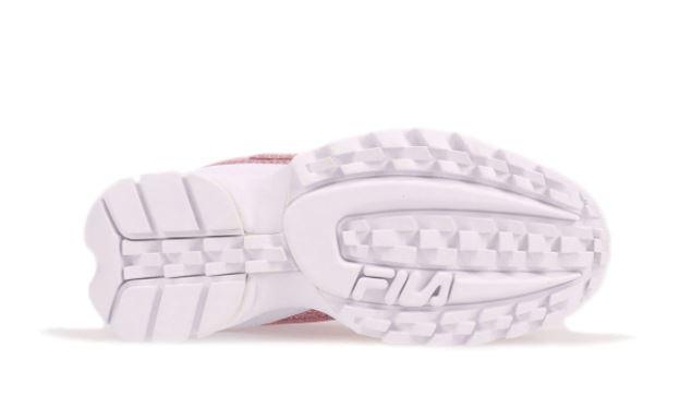 フィラ ディスラプター 2 グリマー アトモス 限定 FILA DISRUPTOR II GLIMMER Black Black White 20FW sole