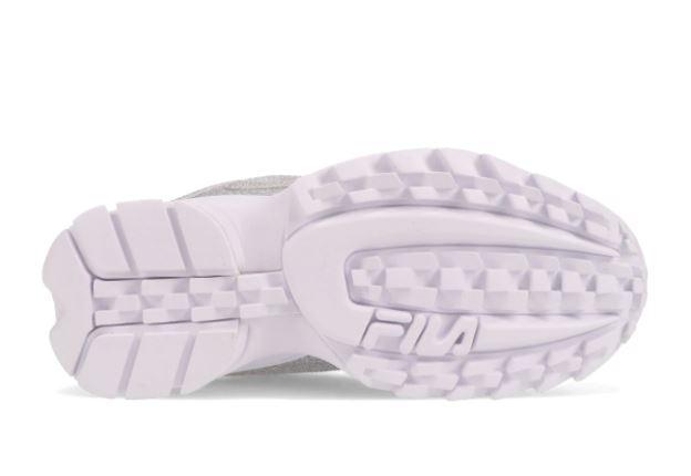 フィラ ディスラプター 2 グリマー アトモス 限定 FILA DISRUPTOR II GLIMMER atmos Exclusive silver sole