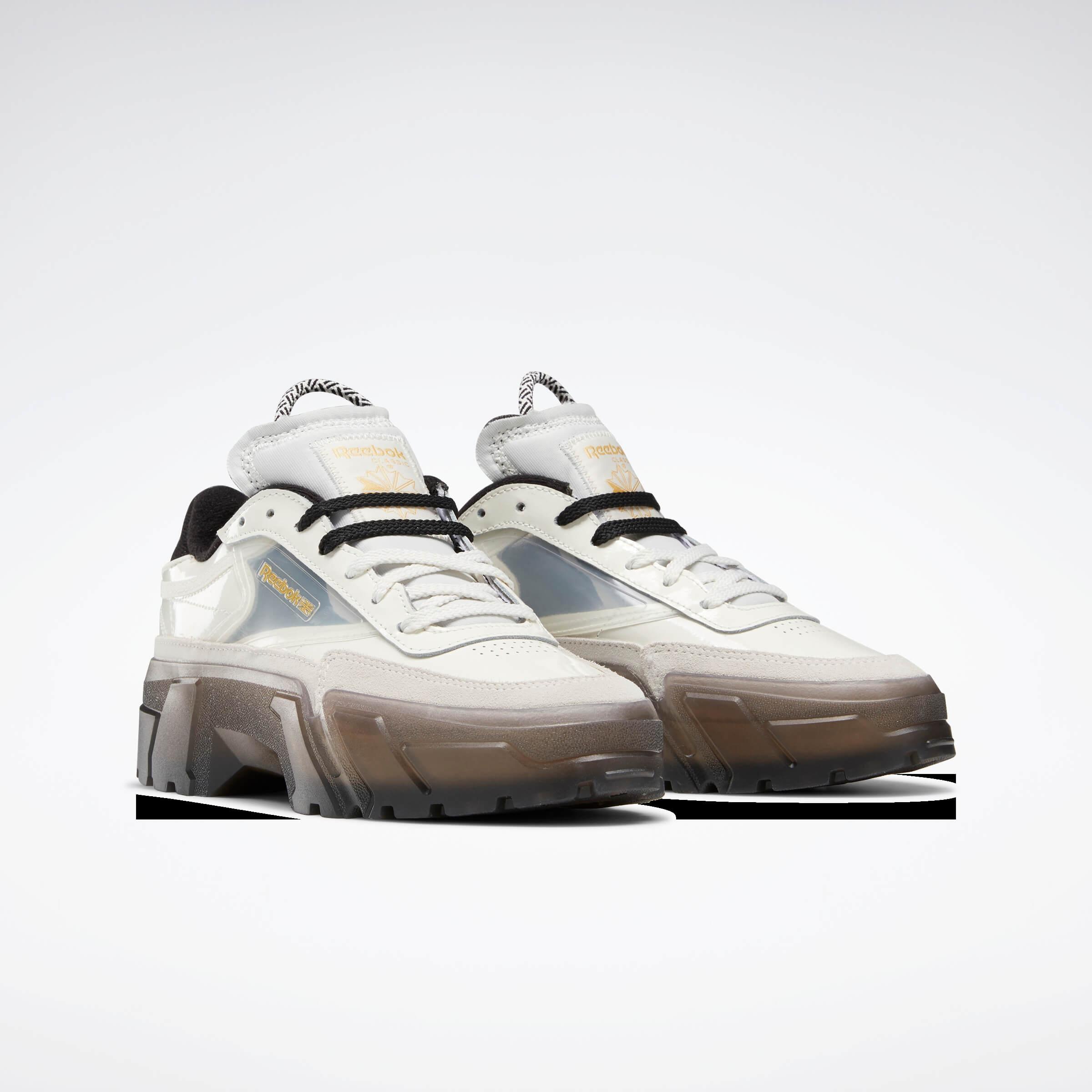 Reebok CLASSIC x Cardi B カーディ・B クラブ シー Cardi B Club C Shoes コラボ product FZ4928 side front