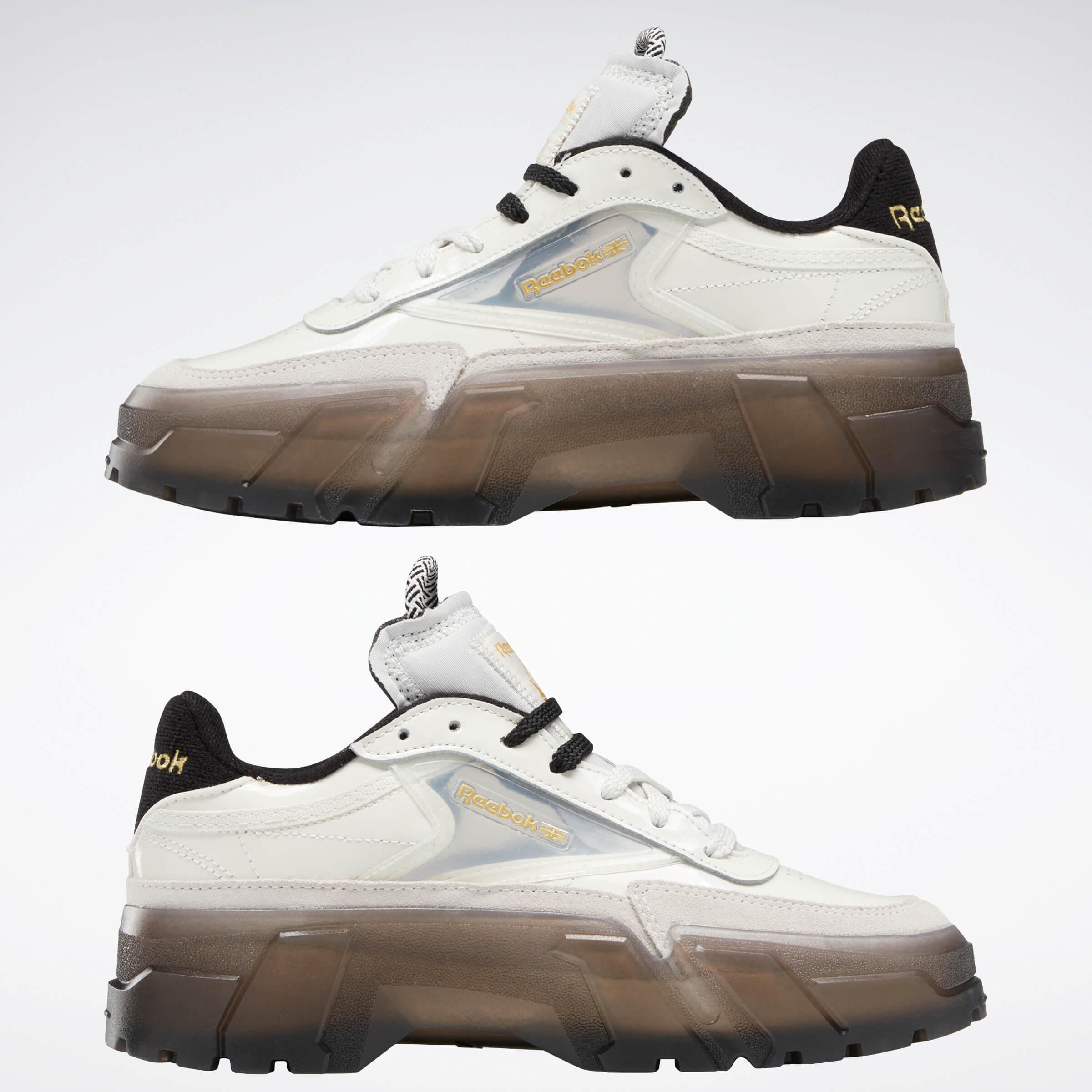 Reebok CLASSIC x Cardi B カーディ・B クラブ シー Cardi B Club C Shoes コラボ product FZ4928 side both