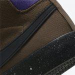 ナイキ SB ブレーザー ミッド GT PRO QS トレイル エンド ブラウン DC0615-200 Grant-Taylor-Nike-SB-Blazer-Mid-GT-Pro-GTP-DC0615-200-heel-closeup