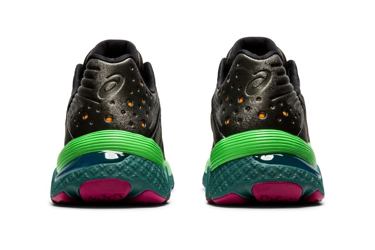 キコ コスタディノフ × アシックス ゲル テセラクト ガンメタル Kiko-Kostadinov-x-ASICS-GEL-TESERAKT-gunmetal-1202A003-021-pair-heel