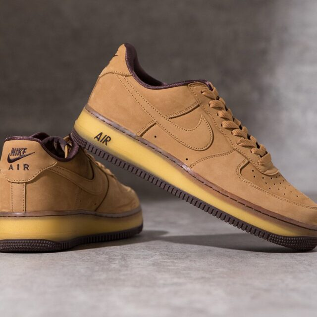 ナイキ エア フォース 1 ウィート モカ Nike Air Force 1 Wheat Mocha DC7504-700 pair main image
