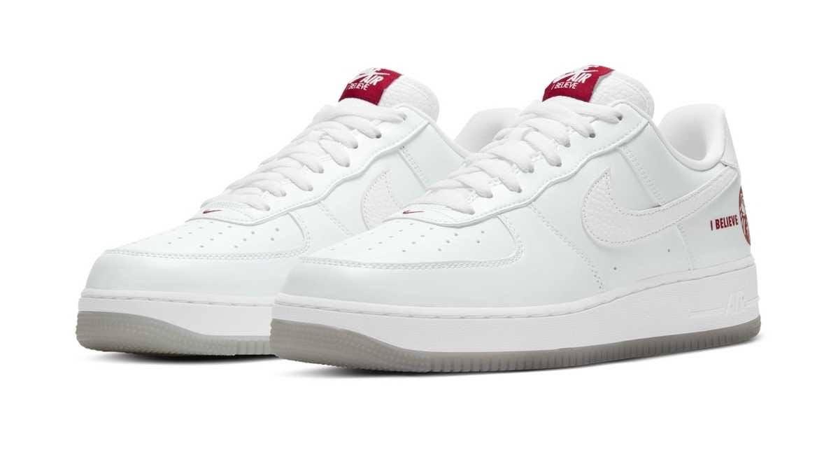ナイキ エア フォース 1 ロー アイ ビリーブ 達磨 Nike-Air-Force-1-Low-I-Believe-DARUMA-pair