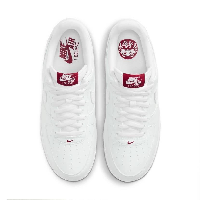 ナイキ エア フォース 1 ロー アイ ビリーブ 達磨 Nike-Air-Force-1-Low-I-Believe-DARUMA-top