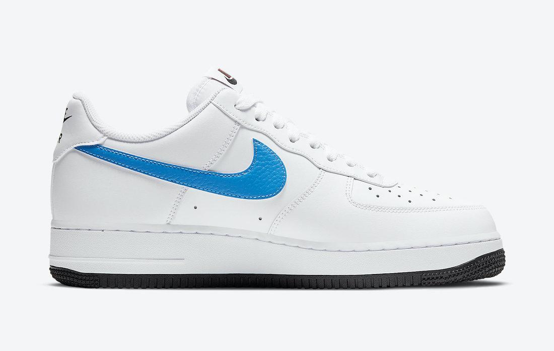 ナイキ シューメーカー パック Nike-Air-Force-1-Low-University-Red-Photo-Blue-CT2816-100-side1