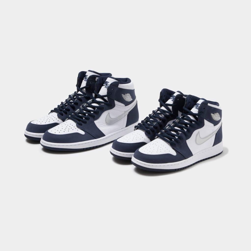 ナイキ エア ジョーダン 1 ジャパン 日本企画 ミッドナイト ネイビー Nike Air Jordan 1 CO.JP Midnight Navy 575441-141 UNDEFEATED mens gs