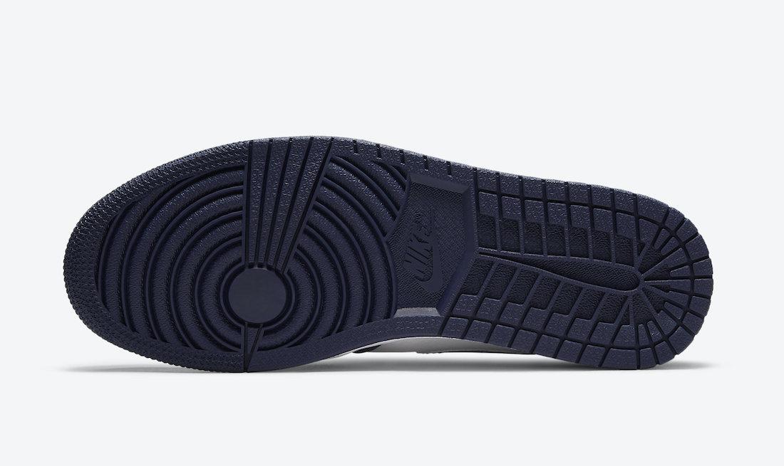 ナイキ エア ジョーダン ミッドナイト ネイビー ジャパン 企画 日本 限定 Nike Air Jordan 1 CO.JP Midnight Navy DC1788-100 closer look sole