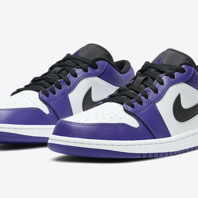 ナイキ エア ジョーダン 1 ロー コート パープル Nike Air Jordan 1 Low Court Purple 553558-500 main