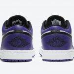 ナイキ エア ジョーダン 1 ロー コート パープル Nike Air Jordan 1 Low Court Purple 553558-500 back