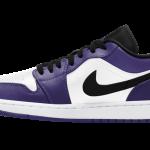 ナイキ エア ジョーダン 1 ロー コート パープル Nike Air Jordan 1 Low Court Purple 553558-500 side