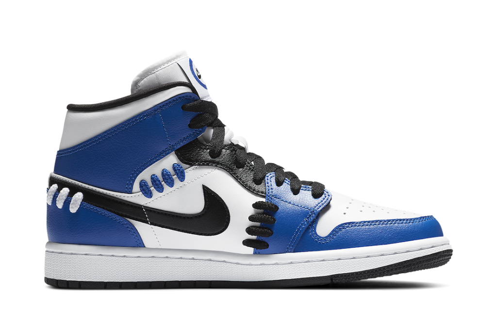 ナイキ エア ジョーダン 1 ミッド シスターフッド ゲーム ロイヤル Nike Air Jordan 1 Mid SE Sisterhood Game Royal CV0152-401 side