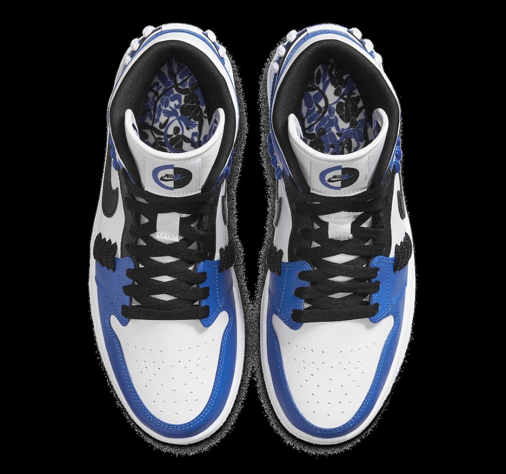 ナイキ エア ジョーダン 1 ミッド シスターフッド ゲーム ロイヤル Nike Air Jordan 1 Mid SE Sisterhood Game Royal CV0152-401 top